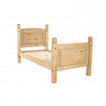 Corona Single High End Bedstead