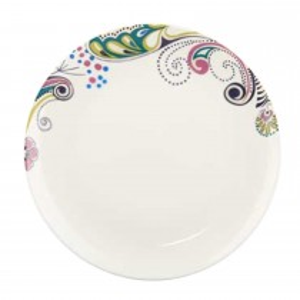 Monsoon Cosmic Cream Salad plate