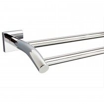 Miller 8827C Atlanta Double Towel Rail