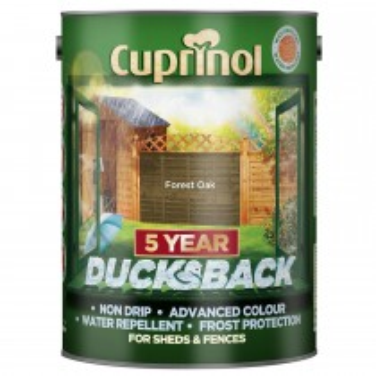 Cuprinol 9l 5yr Ducksback Forest Oak