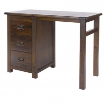 Boston Single Pedestal Dressing Table