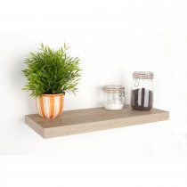 Core Products 600mm Oak Box Shelf Kit, Light Brown