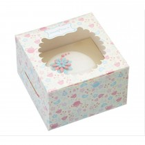 Sweetly Does It Pack of Four Paper Cake Boxes