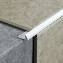 7mm Profile Plus Standard Tile Edging, White