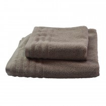 Casa Taupe 50 x 90 Hand Towel