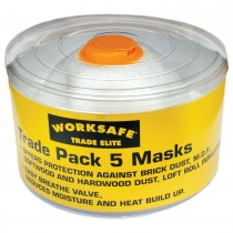 Worksafe Trade Elite Masks Pack of 5
