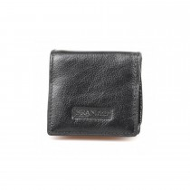Golunksi Leathers Mens Coin Purse Black