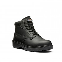 Dickies Size 8 Antrim Safety Boot, Black