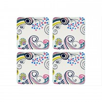 Monsoon Cosmic Cream Coaster x 4