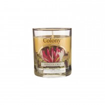 Colony Glass Small Candle Honeysuckle