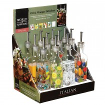 World of Flavours Italian Oil and Vinegar Drizzlers