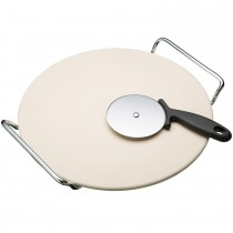 World of Flavours Italian Pizza Stone Set