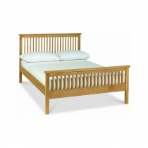 Casa Miami High Foot End Double Bedstead