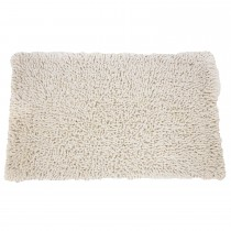 Casa Cotton Loop Bath Mat, Vanilla