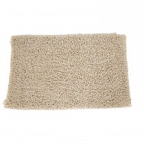 Casa Cotton Loop Bath Mat, Latte
