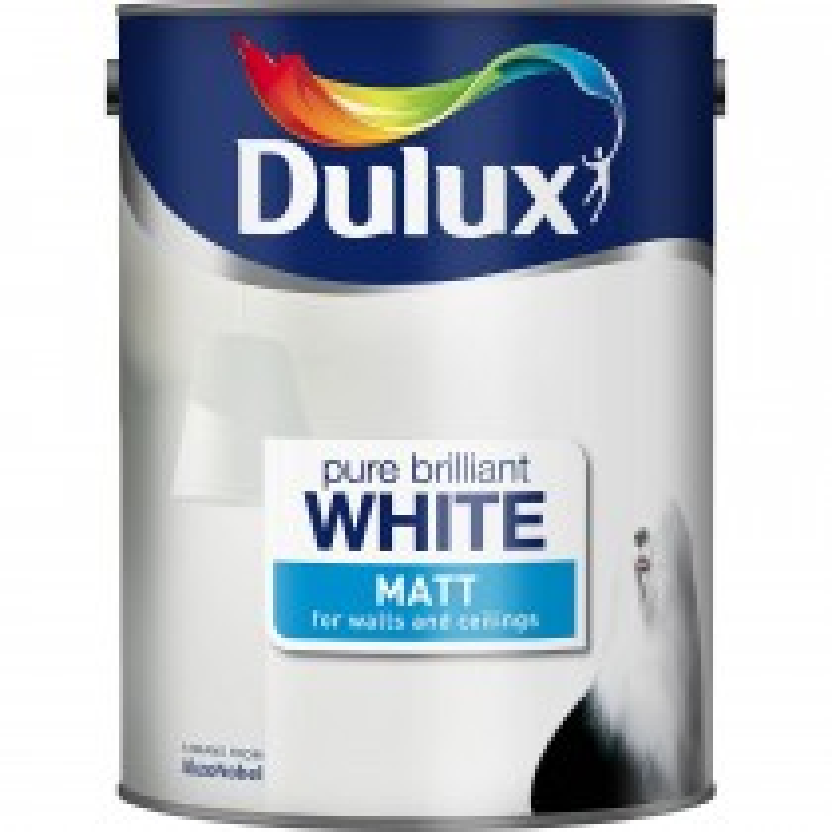 Dulux 7l Matt Pure Brilliant White