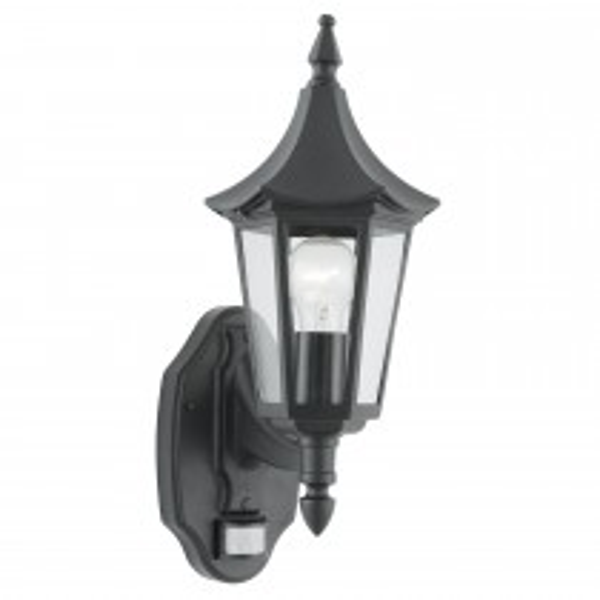 Bel Aire Outdoor Wall Light, Black