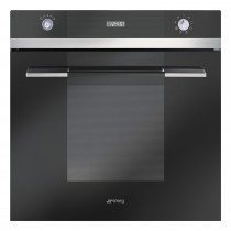 Smeg SFP109N Single Multifunction Oven, Black