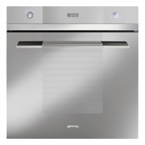 Smeg SFP109S Single Multifunction Oven, Stainless Steel