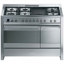 Smeg A3-7 Cooker 120cm, Stainless Steel