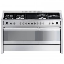 Smeg A5-8 Cooker 150cm, Stainless Steel