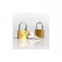Travel Blue Security Padlocks Set of 2, Gold