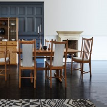 Ercol Pos Windsor Table & 6 Chairs Set