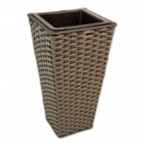 Casa Grey Tapered Planter Small