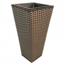Casa Grey Tapered Planter Medium Onesize