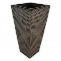 Casa Grey Tapered Planter Large