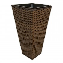 Casa Brown Tapered Planter Medium Onesize