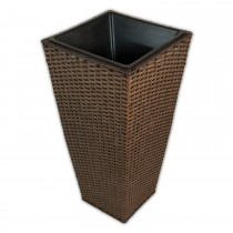 Casa Brown Tapered Planter Large