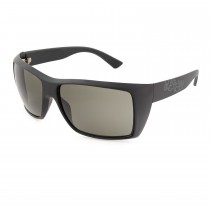 Urban Beach Mens Rectangular Sunglasses, Black