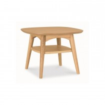 Casa Oslo Lamp Table With Shelf