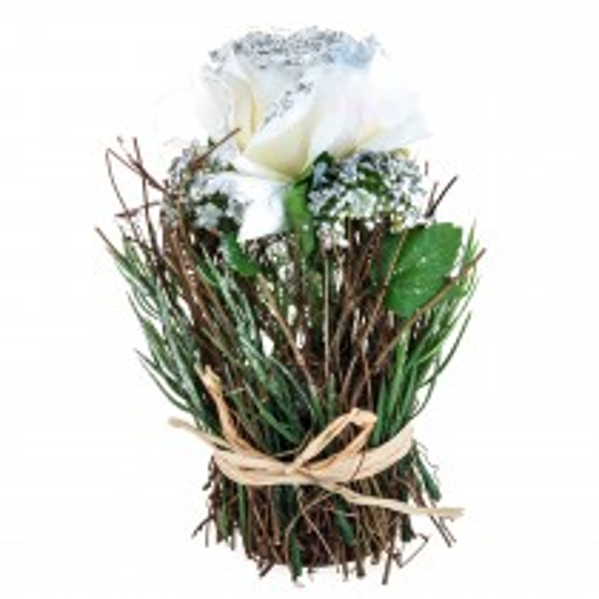 Casa Rose/allium Mixed Bush White, White
