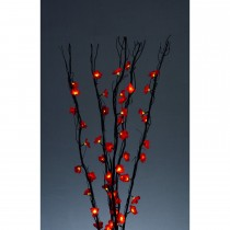 1.25m 5 Branch Flower 60 Lights