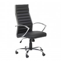 Casa Hartford Executive Chair, Black