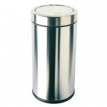 Simplehuman 55 Litre Bin, Brushed Steel