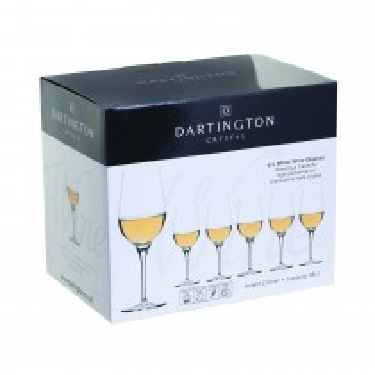 Dartington Crystal White Wine Gift Box Set of 6