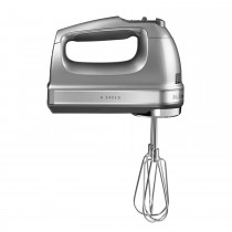 KitchenAid 9 Speed Hand Mixer, Contour Silver