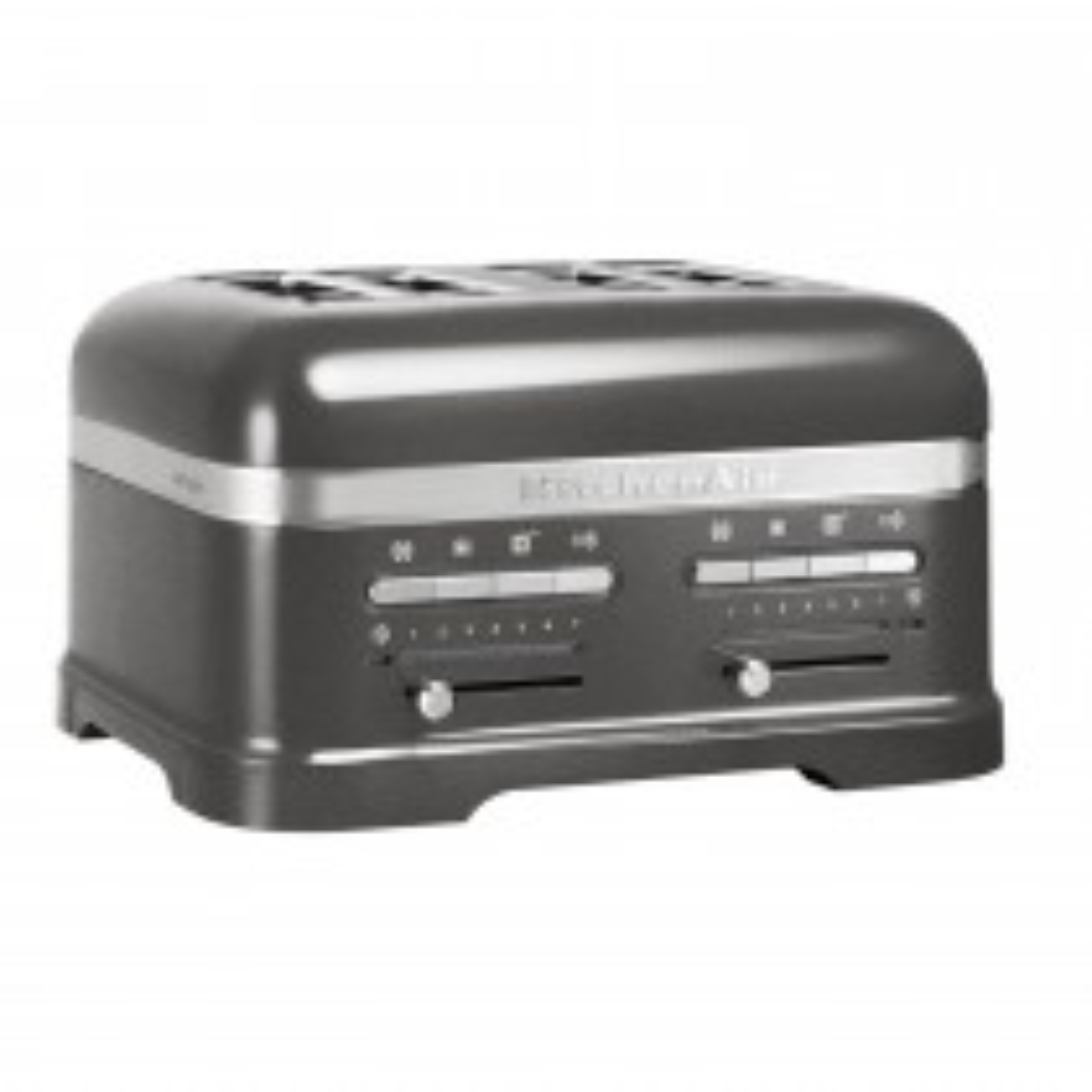 KitchenAid 4 Slot Toaster, Medallion Silver