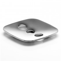 Robert Welch Burford Soap Dish, Stainless Steel