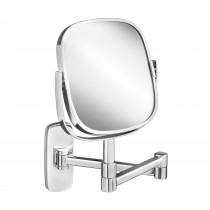 Robert Welch Burford Extending Mirror, Stainless Steel
