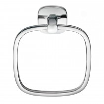Robert Welch Burford Towel Ring, Stainless Steel
