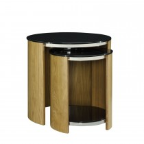 Jual Curve Nest Of Tables Glass