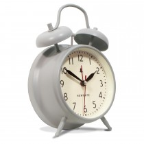 Newgate Clocks New Covent Garden Alarm, Overcoat Grey