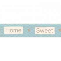 Fine Decor Ceramica Home Sweet Home Wall Border
