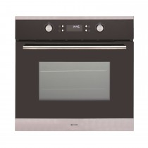 Caple Sense Pyrolitic Single Oven, Black