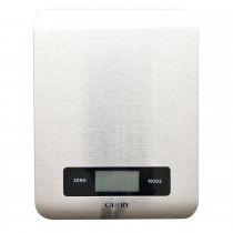Casa Digital Kitchen Scale, Silver
