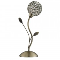 Mirren Table Lamp Antique Brass